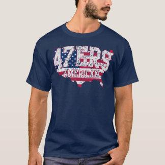 Camiseta americana del discurso de 47ers el 47%