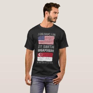 Camiseta Americano por gracia de Dios del singapurense del