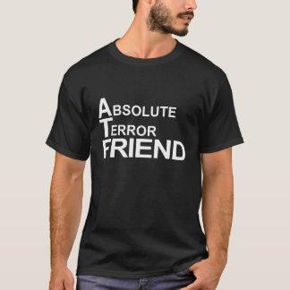 Camiseta amigo absoluto del terror