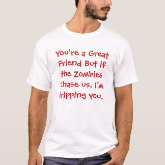 Camiseta Amigo contra zombi