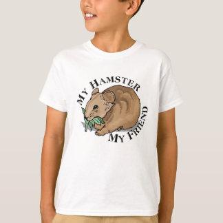 Camiseta Amigo del hámster