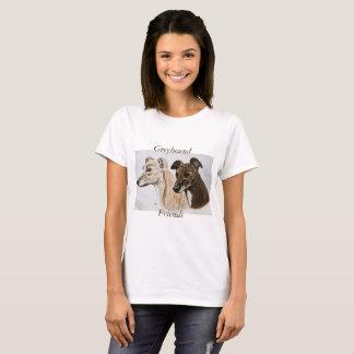 Camiseta Amigos del galgo