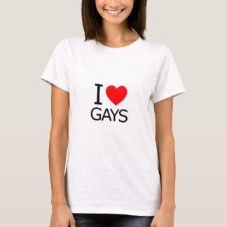 Camiseta Amo a gays
