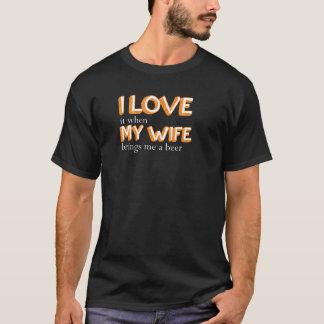 Camiseta Amo a mi esposa