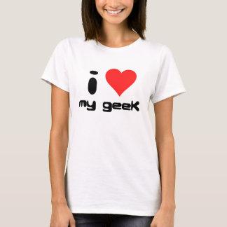 Camiseta amo a mi friki