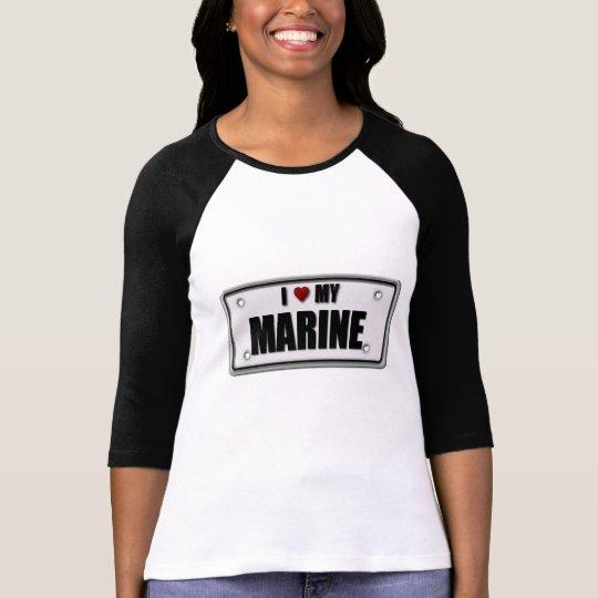 Camiseta Amo a mi infante de marina