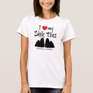 Camiseta Amo a mi Shih Tzus