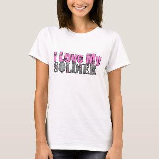 Camiseta Amo a mi soldado