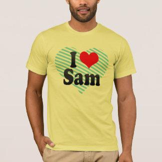 Camiseta Amo a Sam