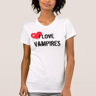 Camiseta Amo a vampiros
