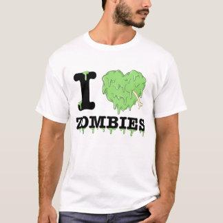 Camiseta Amo a zombis