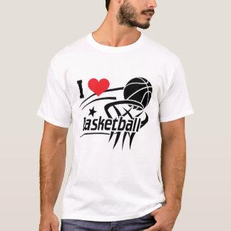 Camiseta Amo baloncesto