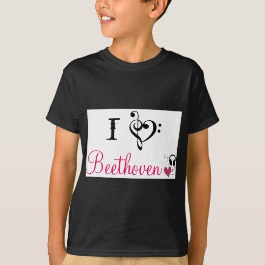 Camiseta Amo Beethoven