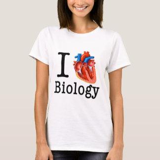 Camiseta Amo biología