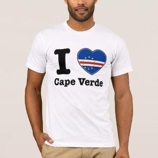 Camiseta Amo Cabo Verde