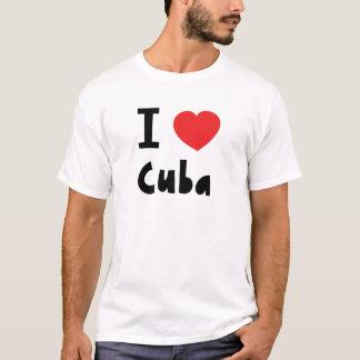 Camiseta Amo Cuba