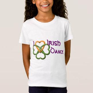 Camiseta Amo danza del irlandés