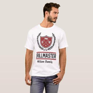 Camiseta amo de encargo de la parrilla
