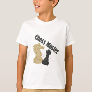Camiseta Amo del ajedrez