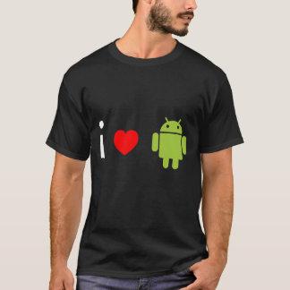 Camiseta Amo el androide