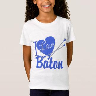 Camiseta Amo el bastón