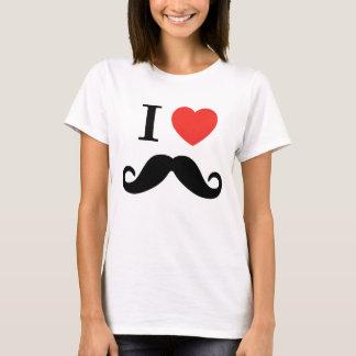 Camiseta Amo el bigote