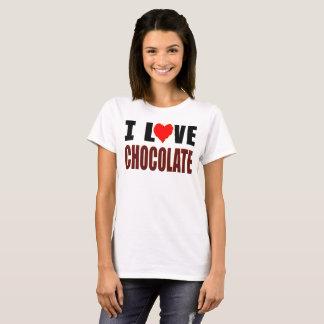 Camiseta Amo el chocolate