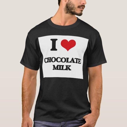 Camiseta Amo el chocolate caliente