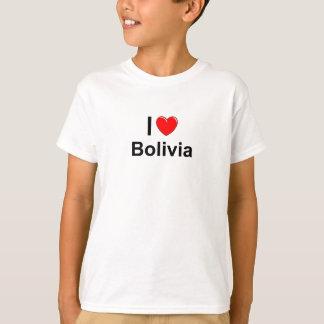 Camiseta Amo el corazón Bolivia