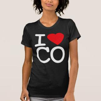 Camiseta Amo el corazón Colorado