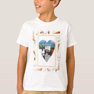 Camiseta Amo el corazón de las cáscaras del St. Maarten -.