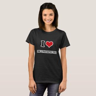 Camiseta Amo el inesperado