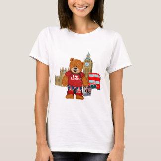 Camiseta Amo el oso de peluche de LONDRES