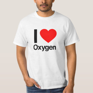 Camiseta amo el oxígeno