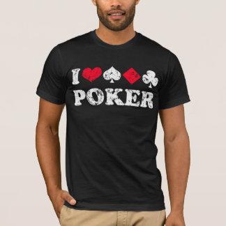 Camiseta Amo el póker