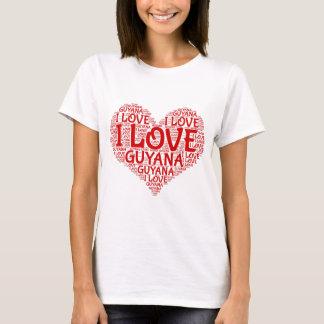 Camiseta Amo el recuerdo de Guyana