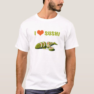 Camiseta Amo el sushi