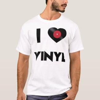 Camiseta Amo el vinilo