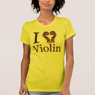 Camiseta AMO el violín
