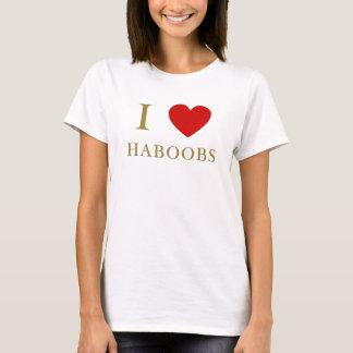 Camiseta Amo haboobs