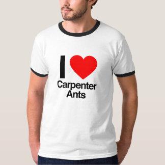 Camiseta amo hormigas de carpintero