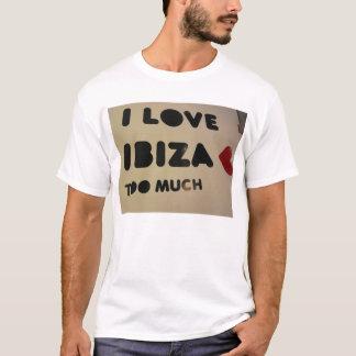 Camiseta amo ibiza que amamos ibiza cada uno ama ibiza
