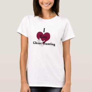 Camiseta Amo la caza del fantasma