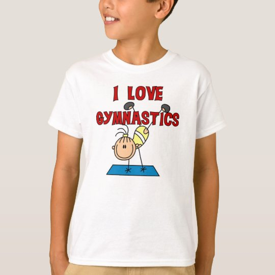 Camiseta Amo la gimnasia