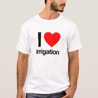 Camiseta amo la irrigación