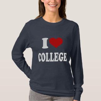 Camiseta Amo la universidad