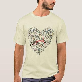 Camiseta Amo las bicis de Brompton