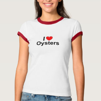 Camiseta Amo las ostras de Hearrt
