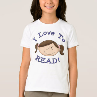 Camiseta Amo leer al chica