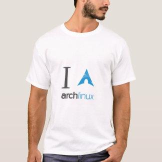 Camiseta Amo linux del arco